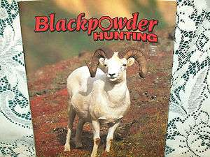 BLACKPOWDER HUNTING 6/98~DALL SHEEP~FORSYTH BARREL~REMINGTON 700
