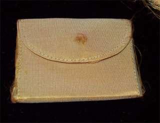 PURSE Flapper 1920s FRANCE Handbag Apricot SILK Beads