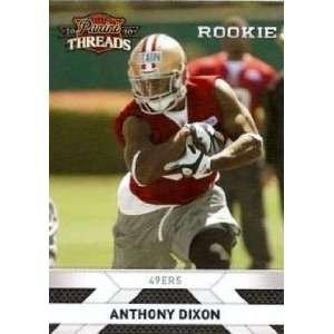 2010 Panini Threads #206 Anthony Dixon RC