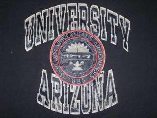 ARIZONA CHAMPION T Shirt college soft thin 80s football ncaa