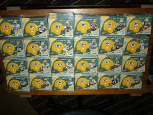 Matt Flynn rc Jordy Nelson rookie Packers lot Helmet Insert Set