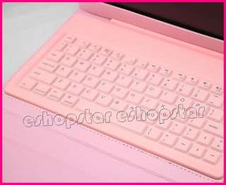 Bluetooth Keyboard With Leather Case Stand Cover for Apple iPad 2