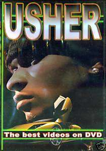 Usher; Music Videos on DVD   RAP & HIP HOP MUSIC VIDEOS