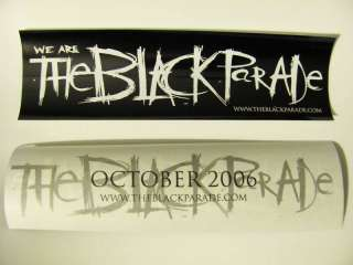 My Chemical Romance We Are THE BLACK PARADE Sticker