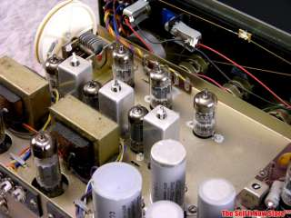 RA 581 RA581 Tube Stereo Receiver Amp Amplifier AM/FM Radio