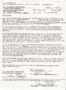 JIMMY STEWART original signed 2x contract