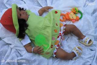 So Real Reborn 22Baby doll AA Biracial Ethnic Shyann Aleina Peterson