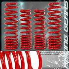 /CRX/INTEGRA JDM RED SUSPENSION COIL LOWERING SPRINGS 2.25 REAR DROP