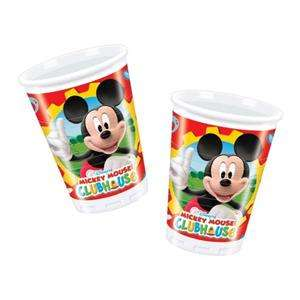 mouse clubhouse party mickey mouse party cups x 10 plastic party cups