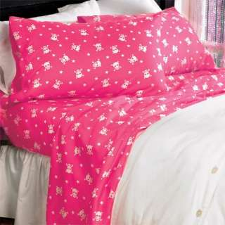 Girly Pink Skull & Crossbone Faux Leather Bed Bedroom Throw Pillow New