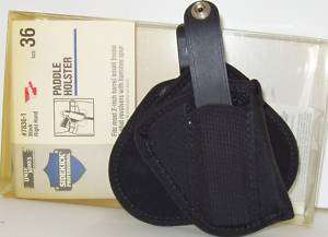 Uncle Mikes #7836 1 RH, Paddle Holster