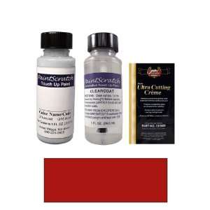 1 Oz. Toreador Red Pearl Metallic Paint Bottle Kit for
