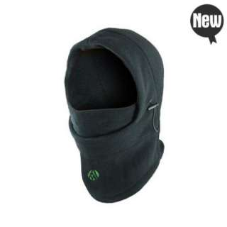Thermal FLEECE 6 in 1 BALACLAVA HOOD POLICE SWAT SKI MASK Gray