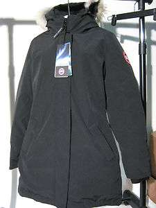 New   Canada Goose Victoria Parka   Black   Medium