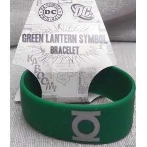 DC Comics GREEN LANTERN Symbol Rubber Bracelet WRISTBAND