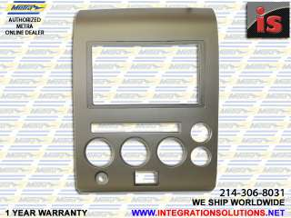 2006 07 NISSAN TITAN DOUBLE DIN RADIO DASH INSTALL KIT