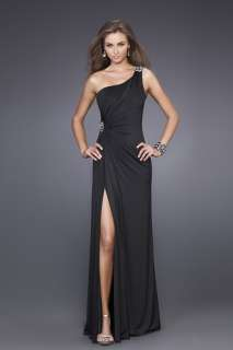 Black Long Prom Dress Evening Party Homecoming Dress New♥