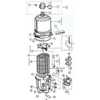 Hayward DEX2420MAR2 DE and Cartridge Filter Manual Air
