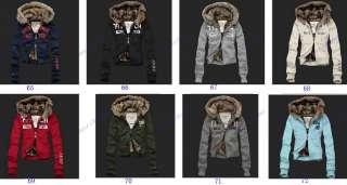 Brand New Womens Fur Hoodies Sweatshirts Lady Jackets