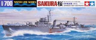 Tamiya 31429 IJN Japanese Destroyer SAKURA 1/700 scale kit