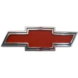 67 68 GMC/Chevy Truck BOWTIE GRILLE EMBLEM, RED