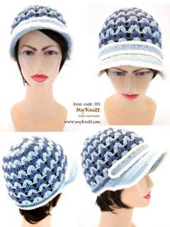 Brand New Hand Crocheted Hat