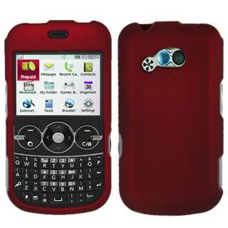 Hard Cover Case for LG 900G Net 10 Tracfone w/Screen Protector