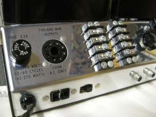 MUSEUM QUALITY VINTAGE MCINTOSH MC240 STEREO TUBE AMPLIFIER  