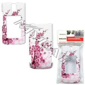 Spring Flower Design Snap On Hard Case for Nokia 6650 fold