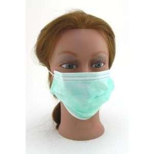 Surgical Elastic Ear Loop Mask (Box of 50) Green (3 Pack