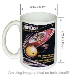 Fantastic Universe Science Fiction Vintage Art COFFEE MUG
