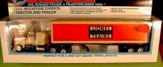 Lionel 52033 TTOS WOLVERINE DIV TRACTOR & TRAILER NIB