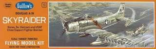 Guillows SKYRAIDER Flying Balsa scale model kit#904