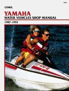 CLYMER SERVICE MANUAL W805 YAMAHA WJ500 WR500 SJ650 500