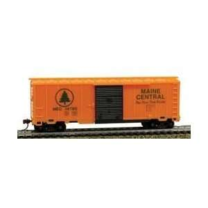 Maine Central 40 Box Car Ho Freight Cars With Magnetic