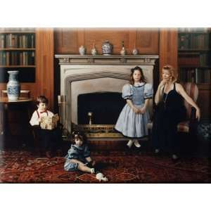 The Carl Family 16x12 Streched Canvas Art by McCormack