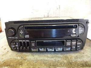 98 02 Chrysler Dodge Durango Dakota Caravan Neon Radio Cd Cassette