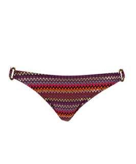 null (Multi Col) Marie Meili Zigzag Bikini Bottoms  241268699  New