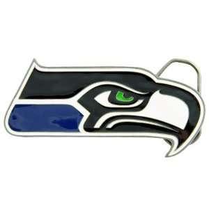 com Seattle Seahawks Pewter Team Logo Belt Buckle Sports & Outdoors