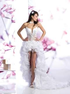 sexy White wedding/evening/prom dress/gown sizecustom