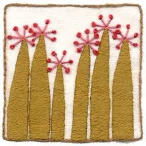 Crewel Wool Embroidery Kit   Birthday Wish