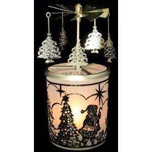 Candle Holder Spinning Trees Scandinavian Decor Home Improvement
