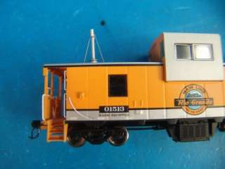 Denver Rio Grande Western Caboose Wide Vision Train Car Rolling