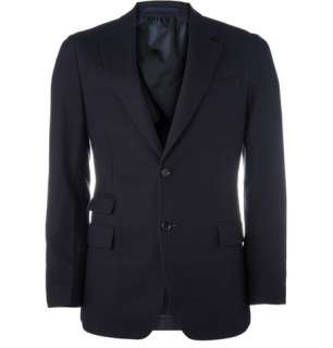 Clothing  Blazers  Single breasted  Basket Weave