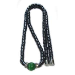 Green Cat Eye Magnetic Necklace