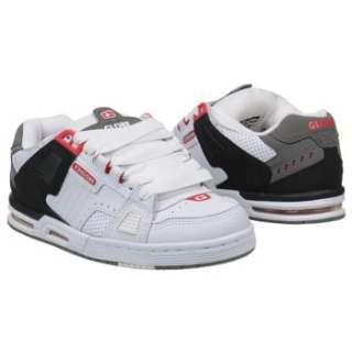 Athletics Globe Mens Sabre White/Grey/True Red Shoes