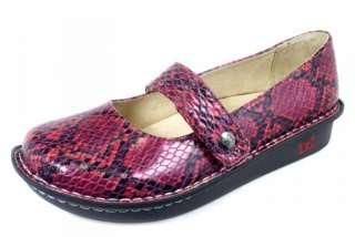 FELIZ SNAKE Mulit Red Leather Shoes FEL 718 *CLEARANCE*NEW*NIB*