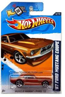 Hot Wheels Muscle Mania   Ford #116 1967 Ford Mustang Coupe