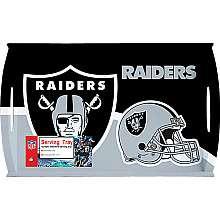 Siskiyou Gifts Oakland Raiders Melamine Serving Tray