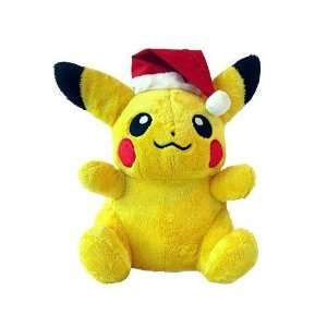 Large 12 Plush Poke Doll Santa Christmas Pikachu Toys & Games